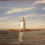 Saybrook Breakwater Lighhouse, Long Island Sound, CT