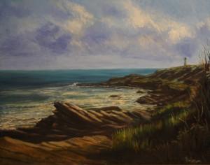 """The Lighthouse at Beavertail Park, Rhode Island"""