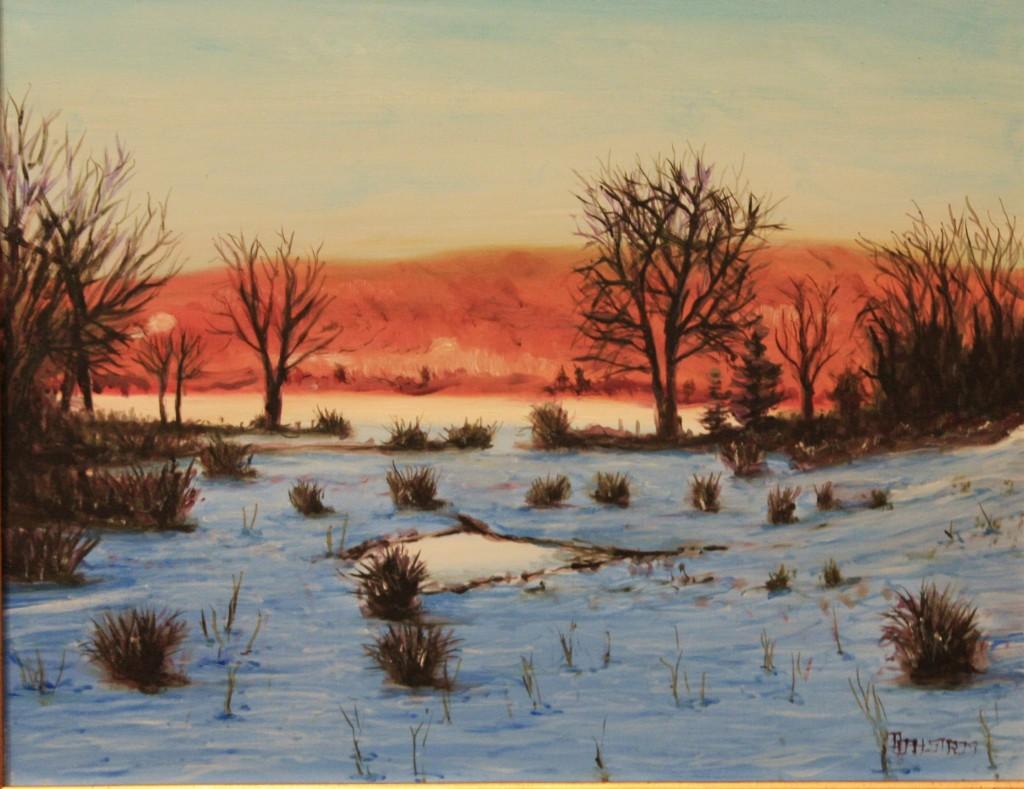 """""""Winter Light on Tiffany Farm"""""""
