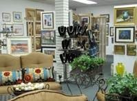 Inside of Artisans Harbor in Old Saybrook, CT