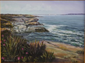 """""""June Flowers at Beavertail State Park"""""""