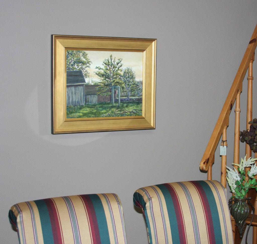 """""""The Bell Collector's Farm"""" displayed in Design Essence, Old Saybrook, CT"""