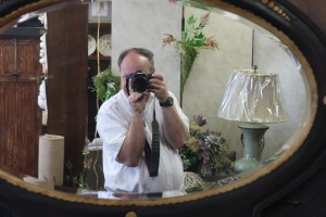 Dan photographing in Design Essence