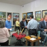 Activity at an Artisans Harbor Open House in Saybrook, CT