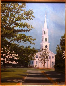 """""""Congregational Church, Old Lyme"""""""