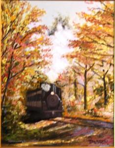 """Autumn Train"""