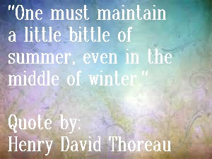 Inspirational Quote by Thoreau