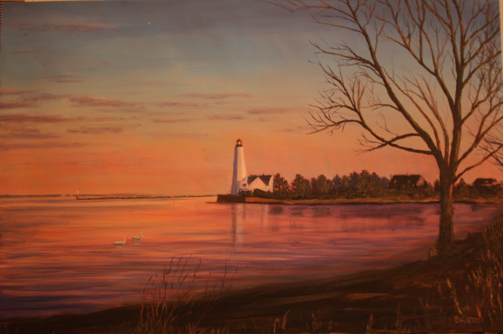 """Lynde Lighthouse"" (Old Saybrook, CT)"