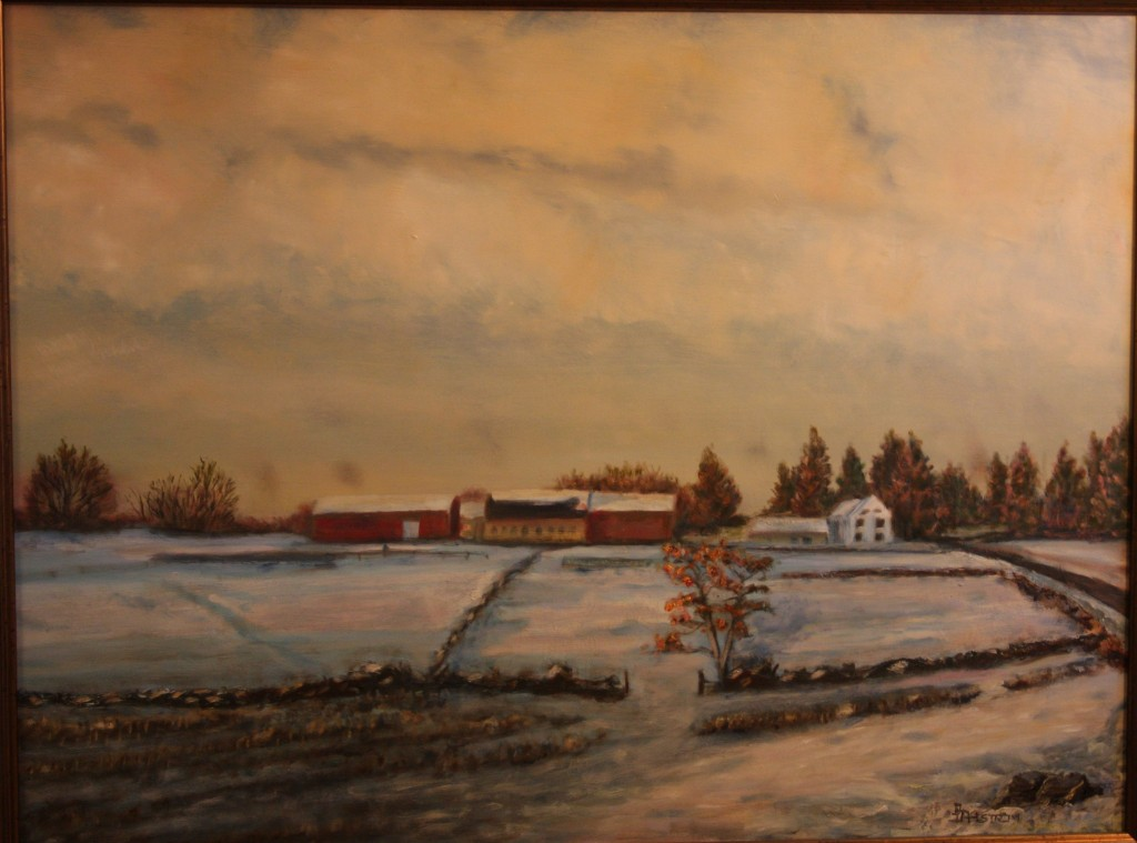 """Winter on Ashlawn Farm"""
