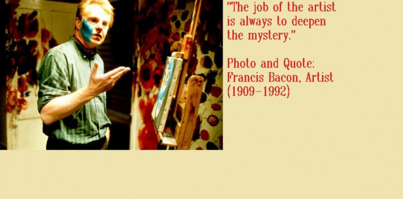 Photo and Quote: Francis Bacon