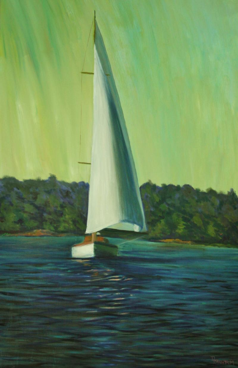 """Summer Sail on the River"""